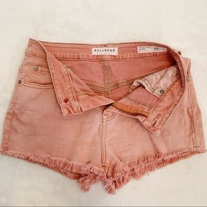 Bullhead | High Rise Cut Off Denim Shorts Sz 9
